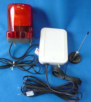 DC48V電源を使った無線受信機と表示灯受信アンテナの製作例